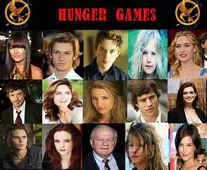 My Hunger Games Cast by musicgirly9060 on DeviantArt