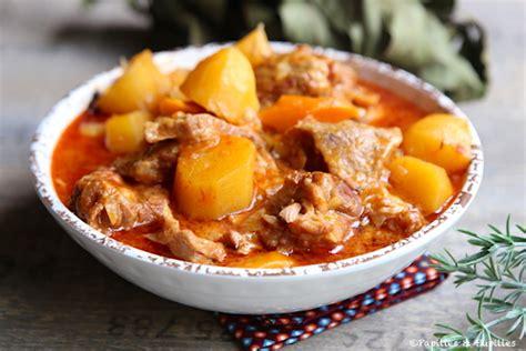 saut 233 de veau facile aux pommes de terre et carottes