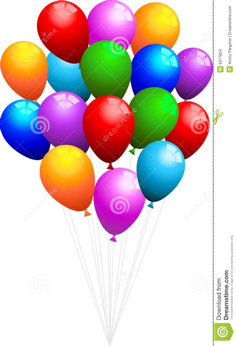 bunch  balloons stock images image