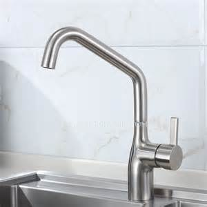 polished nickel kitchen faucet high end rotatable stainless steel kitchen faucets brushed