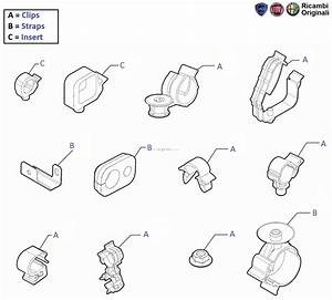 Fiat Linea  Mountings  U0026 Fixings Of Cables