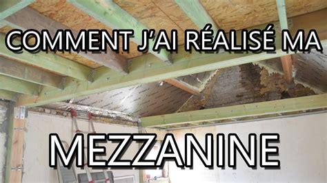 cr馥r une chambre dans un studio construire une mezzanine suspendue maison design bahbe com