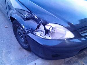 Crashed My Car I Need An Estimate To Repair Fender
