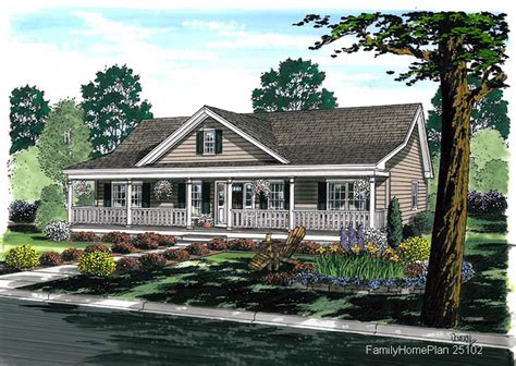 Home Plans With Front Porch by Ranch Style House Plans Fantastic House Plans