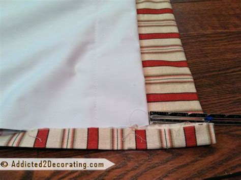Pinch-pleated, Lined Draperies With Two Accent Fabrics