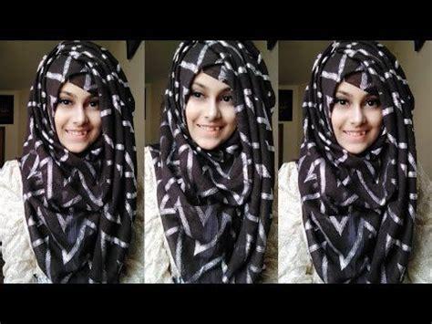 hijab tutorial   cap hijab tutorial