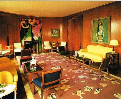 nelson rockefellers  york living room designed