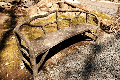 naturalistic style naturalistic style long cement bench at 1stdibs