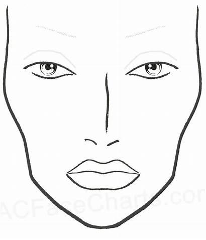 Face Blank Charts Mac Chart Printable Eyeliner