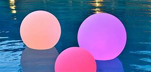 Color Changing Floating Pool Lights 12 Quot Orb Led Light Sphere Rechargable Ultra Color Changing