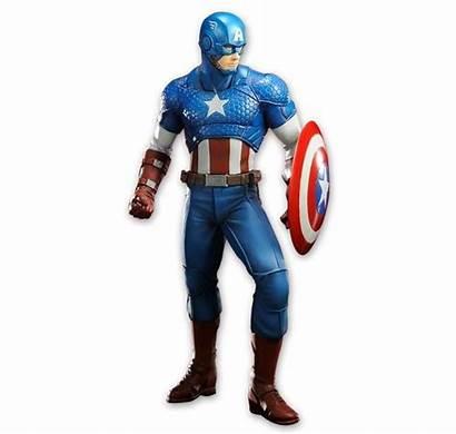 Captain America Closeup Gemerkt Marvel