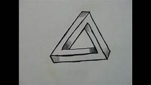Bilder Zeichnen Für Anfänger : zeichnen f r anf nger how to draw the impossible triangle optical illusion youtube ~ Frokenaadalensverden.com Haus und Dekorationen