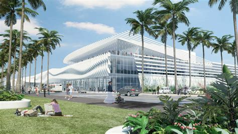 Home Design Center Miami by Miami Ahead With Redesigned Convention Center
