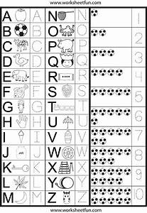 Letters numbers tracing worksheet printable worksheets for Traceable letters and numbers for preschoolers