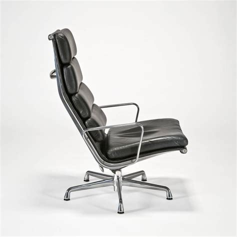 leather soft pad executive chair and ottoman by charles