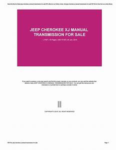 Jeep Cherokee Xj Manual Transmission For Sale By 4tb01