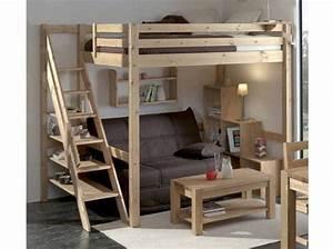 Lit Mezzanine 2 Places Idale Dans Une Chambre