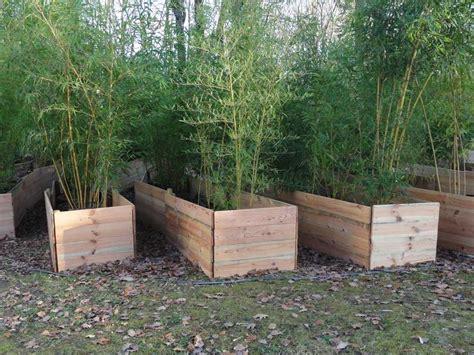 Bac Bois Exterieur Collection Avec Jardiniere Bois Pour