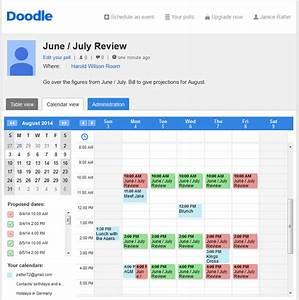 Doodle U2019s Agenda Planner