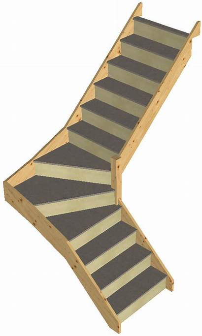 Winder Stairs Staircase Building Loft Treads Domestic