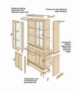 Woodworking Free woodworking plans curio cabinet Plans PDF
