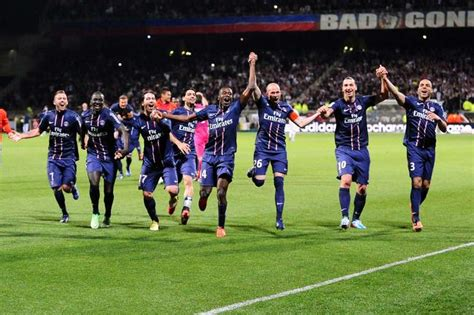 football ligue 1 le psg sacr 233 chion de france 224 lyon