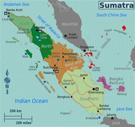large sumatra maps     print high