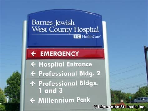 Barnes Jewish West County Hospital In St Louis County