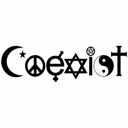 Coexist Sticker Stickers Exist