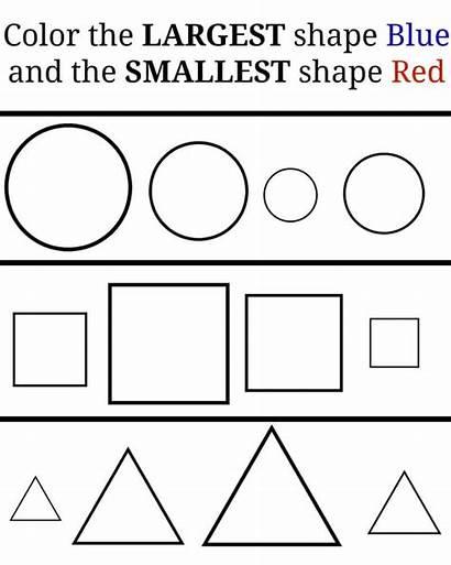 Preschool Shapes Worksheets Activities Learning Printables Kindergarten