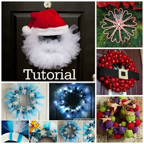 diy projects for christmas 20 diy christmas wreath projects to adore your home beesdiy com