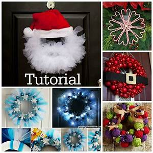 20, diy, christmas, wreath, projects, to, adore, your, home