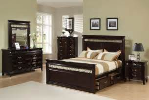 save big on the espresso customizable manhattan panel bedroom set queen size