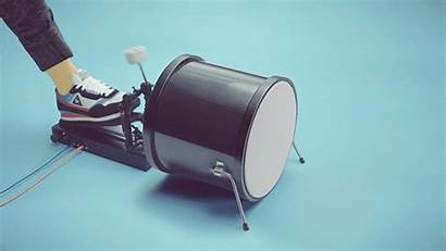 3d Stop Motion Bass Play Drum Gifs
