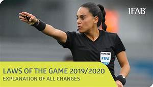 Laws Of The Game  U2013 Changes For 2019  20