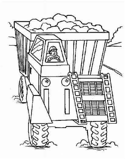 Coloring Pages Construction Constructions Printable Site Coloring2print