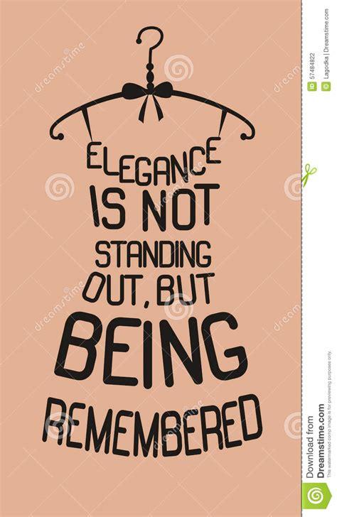 fashion dress  quotes stock vector illustration