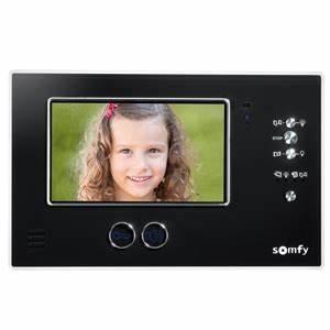 Interphone Video Somfy : visiophone v200 visiophone platine de rue avec le ~ Edinachiropracticcenter.com Idées de Décoration
