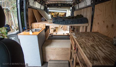 van life part  diy dodge promaster campervan conversion