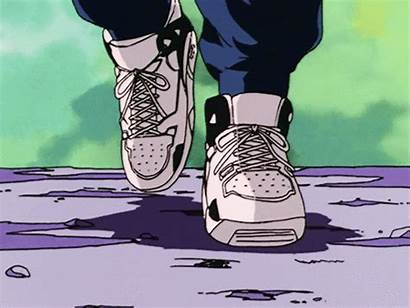 Aesthetic 90s Gifs Anime Retro Shoes Animated