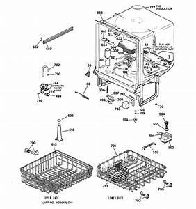 Hotpoint Hda3520z02bb Dishwasher Parts