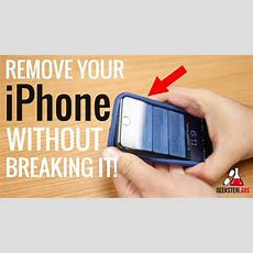 How To Remove Iphone From Case??!! Youtube