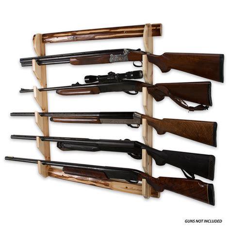 Rifle Racks by Creek Creations Five Gun Wall Rack Chkadels