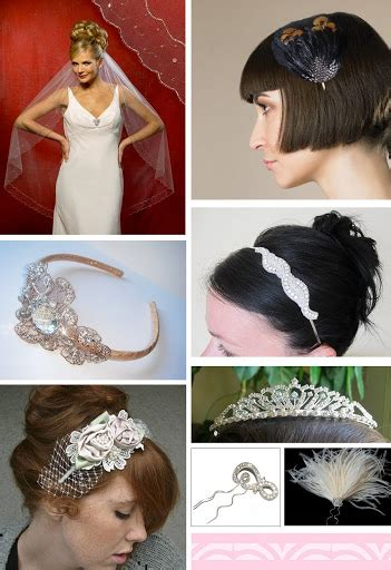 Wedding Veils Hair Accessories by The Artful Wedding Wedding Veils Hair