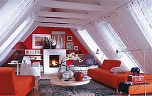 Zimmer Mit Dachschräge Gestalten : wohnidee dachschr ge ~ Lizthompson.info Haus und Dekorationen