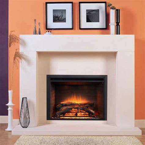 Great Contemporary Fireplace Mantel  Home Design #1029
