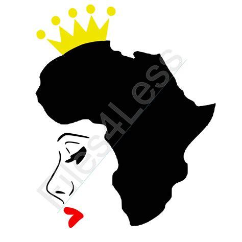 african queen silhouette  getdrawings