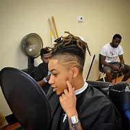 Afro Taper Fade Haircut Dreads