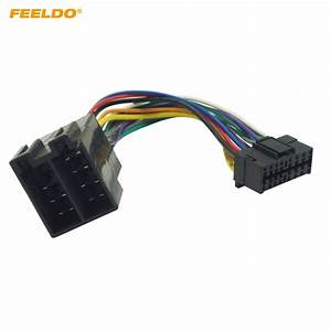 Feeldo Car Stereo Radio Wire Harness Adapter For Sony 16