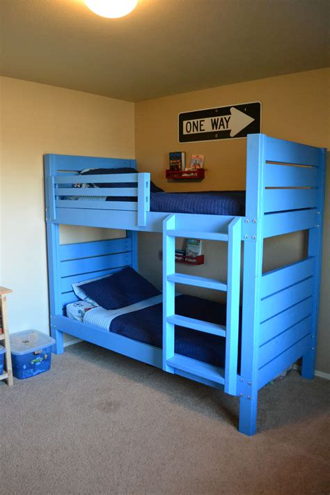 side street bunk beds  modified ladder